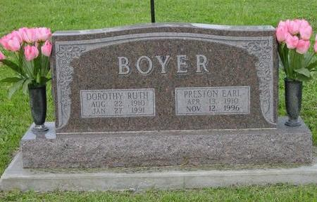BOYER, DOROTHY AND PRESTON EARL - Appanoose County, Iowa | DOROTHY AND PRESTON EARL BOYER