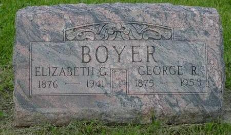 BOYER, ELIZABETH AND GEORGE - Appanoose County, Iowa | ELIZABETH AND GEORGE BOYER
