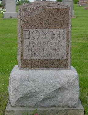 BOYER, FLORIS C. - Appanoose County, Iowa | FLORIS C. BOYER