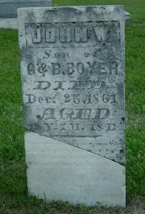 BOYER, JOHN W. - Appanoose County, Iowa | JOHN W. BOYER