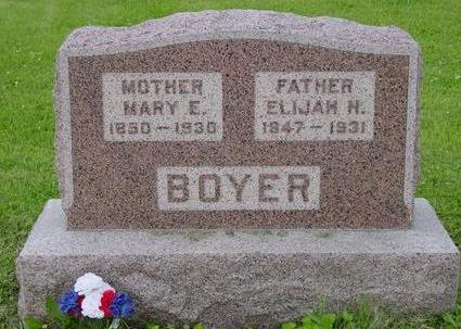 BOYER, MARY E. - Appanoose County, Iowa | MARY E. BOYER