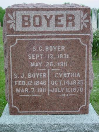 BOYER, SOLOMON GREENBURY - Appanoose County, Iowa | SOLOMON GREENBURY BOYER