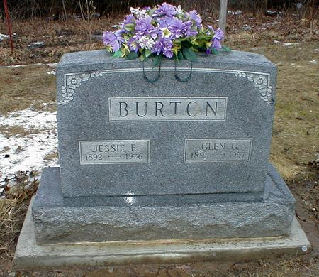 BROWN BURTON, JESSE FRANCES - Appanoose County, Iowa | JESSE FRANCES BROWN BURTON