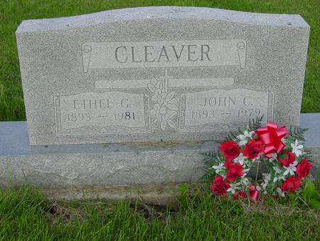 CLEAVER, JOHN C. AND ETHEL - Appanoose County, Iowa | JOHN C. AND ETHEL CLEAVER