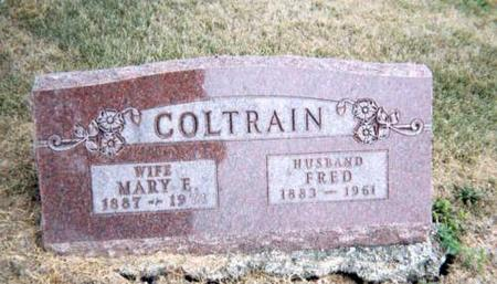 COLTRAIN, FRED AND MARY E - Appanoose County, Iowa | FRED AND MARY E COLTRAIN