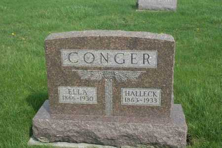 CONGER, HALLECK - Appanoose County, Iowa | HALLECK CONGER