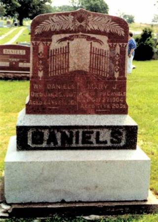 DANIELS, WILLIAM & MARY J. - Appanoose County, Iowa | WILLIAM & MARY J. DANIELS