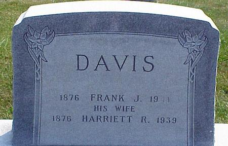 DAVIS, HARRIETT R - Appanoose County, Iowa | HARRIETT R DAVIS
