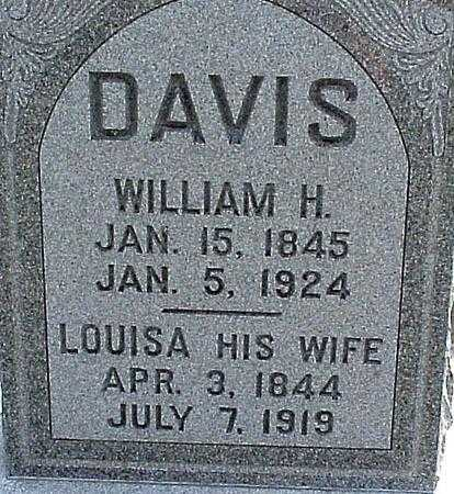 DAVIS, LOUISA - Appanoose County, Iowa | LOUISA DAVIS