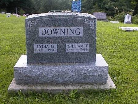 DOWNING, LYDIA M. MINCKS - Appanoose County, Iowa | LYDIA M. MINCKS DOWNING