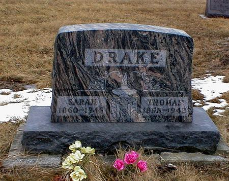 DRAKE, THOMAS - Appanoose County, Iowa | THOMAS DRAKE