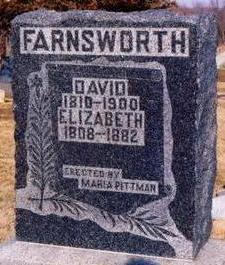 FARNSWORTH, ELIZABETH - Appanoose County, Iowa | ELIZABETH FARNSWORTH