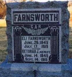 FARNSWORTH, KETURAH J - Appanoose County, Iowa | KETURAH J FARNSWORTH
