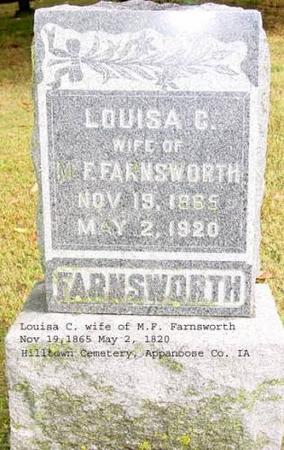 FARNSWORTH, LOUISA C. - Appanoose County, Iowa | LOUISA C. FARNSWORTH