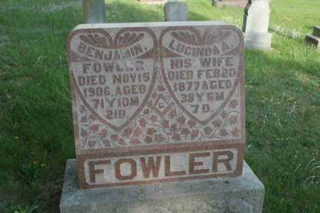 FOWLER, BENJAMIN FLOYD - Appanoose County, Iowa | BENJAMIN FLOYD FOWLER