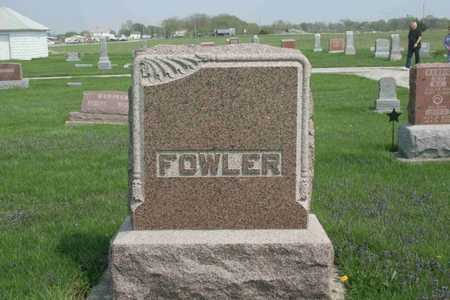FOWLER, FAMILY - Appanoose County, Iowa | FAMILY FOWLER