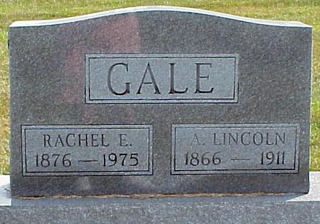 GALE, ABRAHAM LINCOLN - Appanoose County, Iowa | ABRAHAM LINCOLN GALE