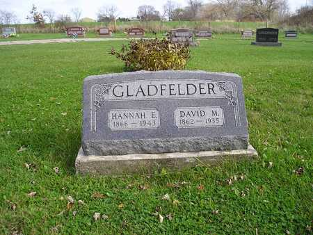 GLADFELDER, DAVID - Appanoose County, Iowa | DAVID GLADFELDER
