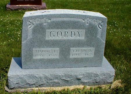 GORDY, MAUDE - Appanoose County, Iowa | MAUDE GORDY