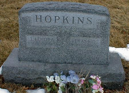 HOPKINS, LENORA - Appanoose County, Iowa | LENORA HOPKINS