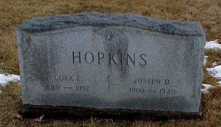 CHRISMAN HOPKINS, CORA - Appanoose County, Iowa | CORA CHRISMAN HOPKINS