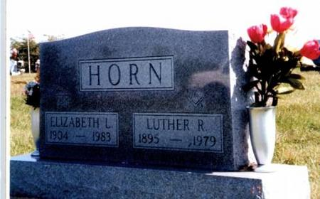HORN, LUTHER R. AND ELIZABETH L. - Appanoose County, Iowa | LUTHER R. AND ELIZABETH L. HORN