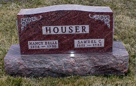 HOUSER, NANCY BELLE - Appanoose County, Iowa | NANCY BELLE HOUSER