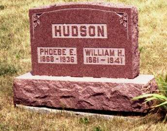 HUDSON, PHEOBE E. & WILLIAM H. - Appanoose County, Iowa | PHEOBE E. & WILLIAM H. HUDSON