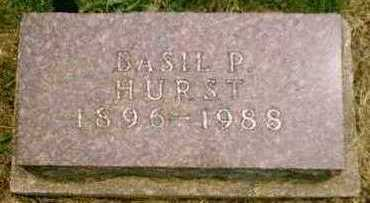 HURST, BASIL PAUL - Appanoose County, Iowa | BASIL PAUL HURST
