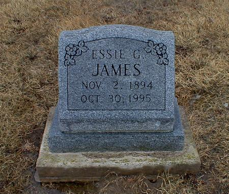 BENGE JAMES, ESSIE GLADYS - Appanoose County, Iowa | ESSIE GLADYS BENGE JAMES