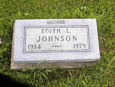 JOHNSON, EDITH L. HARTLEY - Appanoose County, Iowa | EDITH L. HARTLEY JOHNSON
