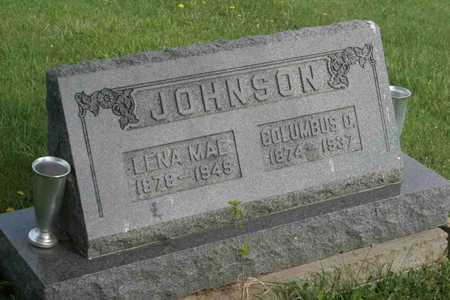 JOHNSON, COLUMBUS O. - Appanoose County, Iowa | COLUMBUS O. JOHNSON