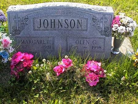 JOHNSON, MARGARET ARNOLD - Appanoose County, Iowa | MARGARET ARNOLD JOHNSON