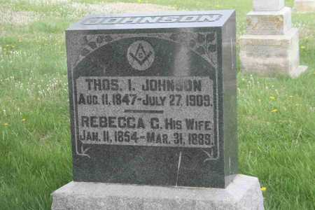 JOHNSON, THOMAS I. - Appanoose County, Iowa | THOMAS I. JOHNSON