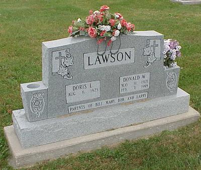 LAWSON, DONALD W. - Appanoose County, Iowa | DONALD W. LAWSON