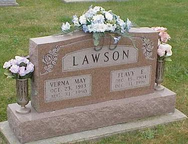 LAWSON, VERNA MAY - Appanoose County, Iowa | VERNA MAY LAWSON