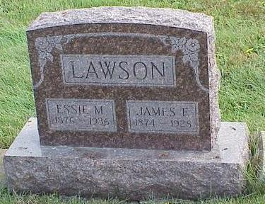 THARP LAWSON, ESSIE MAY - Appanoose County, Iowa | ESSIE MAY THARP LAWSON