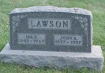 DANIEL LAWSON, IVA ETHEL - Appanoose County, Iowa | IVA ETHEL DANIEL LAWSON