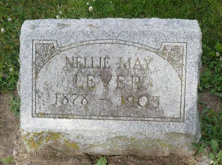 BRYANT LEVER, NELLIE MAY - Appanoose County, Iowa | NELLIE MAY BRYANT LEVER