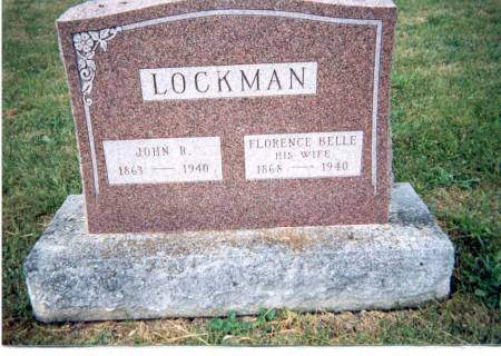 LOCKMAN, FLORENCE BELLE - Appanoose County, Iowa | FLORENCE BELLE LOCKMAN