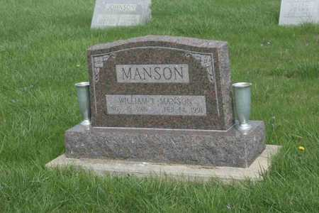 MANSON, WILLIAM - Appanoose County, Iowa | WILLIAM MANSON