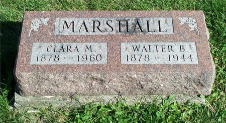 MARSHALL, CLARA M. - Appanoose County, Iowa | CLARA M. MARSHALL