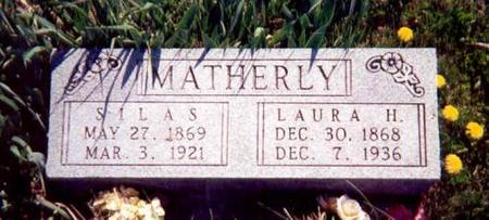 MATHERLY, SILAS AND LAURA - Appanoose County, Iowa | SILAS AND LAURA MATHERLY