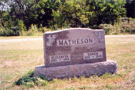 MATHESON, ELIZABETH - Appanoose County, Iowa | ELIZABETH MATHESON