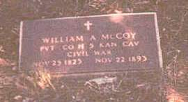 MCCOY, WILLIAM ALBERT - Appanoose County, Iowa | WILLIAM ALBERT MCCOY