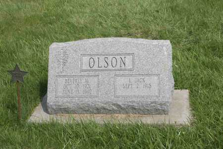 LESENEY OLSON, BEVERLY - Appanoose County, Iowa | BEVERLY LESENEY OLSON