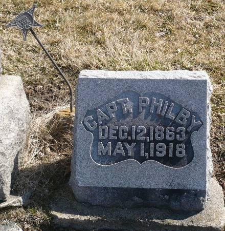 PHILBY, CAPT. - Appanoose County, Iowa   CAPT. PHILBY