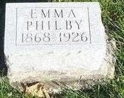 PHILBY, EMMA - Appanoose County, Iowa | EMMA PHILBY
