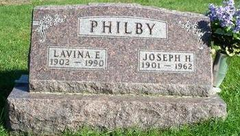 HOWARD PHILBY, LAVINA - Appanoose County, Iowa | LAVINA HOWARD PHILBY