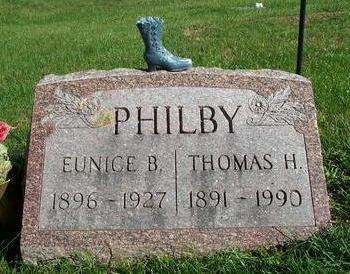 PHILBY, EUNICE B. - Appanoose County, Iowa | EUNICE B. PHILBY
